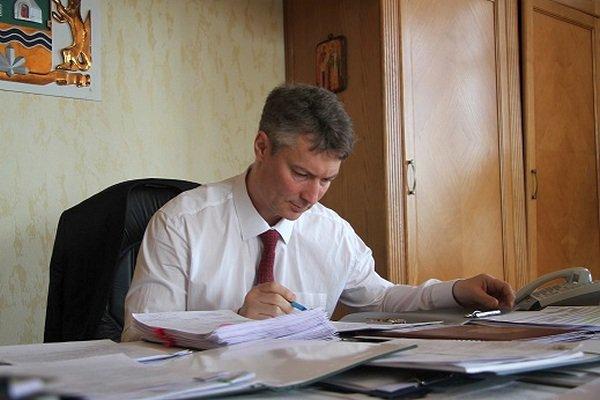 Мэр Екатеринбурга Евгений Ройзман на своем рабочем месте
